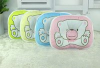 Wholesale Boys Girls Nursing Pillow Support Shape Soft Newborn Infant Pillows Cartoon Animal Bear Baby Pillow Gift Bedding