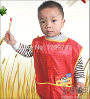 Wholesale 2015 hot Senior waterproof clothes aprons bibs gowns primary school students clothing