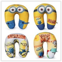 head rest - EMS Despicable Me styles Jorge Dave Stewart Children U Shaped Head Rest Micro Foam Beads