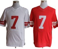 Wholesale Cheap Men s Women s Kids Youth American Football Jerseys SF Red White Team Rugby Stitched Jersey Uniforms