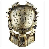 alien sideshow - Halloween Cosplay Mask Party Predator VS Alien Skull Sideshow Classic Gold CA