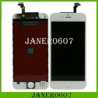high white - 100 New Iphone LCD Touch Digitizer Assembly Screen Replacement For quot iPhone White Black Color High quality In Stock