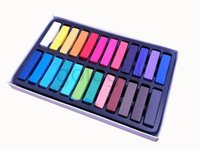 Wholesale New arrival Colors Fashion Hot Fast Non toxic Temporary Pastel Hair Dye Color Chalk