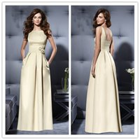 accent model - 2015 evening dresses handmade flower accents satin mother of bride dress wedding party dresses custom made