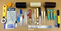 basic sewing tools - 30 Basic Hand Sewing Tool Stitching Leathercraft Tool Set