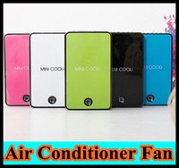 Wholesale Details about Mini Cooli Portable USB Rechargeable Hand Held Air Conditioner Summer Cooler Fan