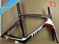carbon fiber bicycle frame - Hot sale high quality Carbon fiber road Bicycle Frame china super light Carbon fiber Bicycle Frame fork c