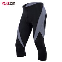 Wholesale Reflective Men s Cycling Pants Anti Sweat Bicycle Underwear DCoolmax Tights Fitness Underpant Quick Dry MTB Bike Pant OUTTO