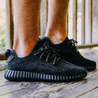 Wholesale 2016 Yeezy Yeezy350 Mens Shoes Boost Classic Shoes Low Kanye West Athletic Boots Ankle Boots Low cut Shoes Sports running shoes