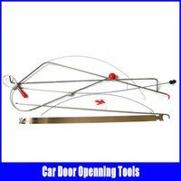 car door open tools - KLOM Car open door tool Quick Open Kit Lock Pick Set locksmith tools open car door Auto Door Open tools high quality