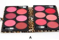 Wholesale 12 Colors Mineral Blusher Colored Professional Mineralize Blush Set Blush Palette Pallete Contour Palette Makeup Blusher DHL Free sets