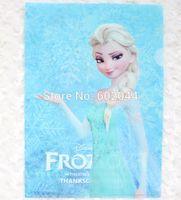 Wholesale blue cute Elsa Monolayer Folder Filing Products X21 cm