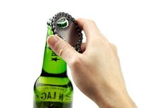 beer bottle tags - Custom Design Print Logo Alloy Beer Keychain Key Tag Chain Ring Bottle Opener wine Barbuzzo Bike Chain Bottle Openers