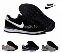 top brand - Nike Internationalist Mid Top Retro Winter Men s Women s Running Shoes Brand Sports Shoes Outdoor Athletic Leather Shoes Size