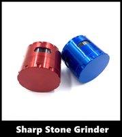 grinders - New Hot Sale Electric Layer Gift Box Aluminum Hand Crank Herbal Herb Tobacco Crusher Vibration Smoke Grinder Silver Black Tobacco Grinder