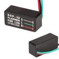 Wholesale Universal Motorcycle LED Halogen Turn Signal Light Flasher Blinker Relay Blinker Pin Turn Signal Indicator