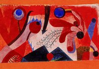 berry oils - Gift Oil Painting Poisonous Berries Art by Paul Klee hand painted High qualilty