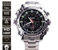 Wholesale HD P IR Night Vision GB Waterproof SPY Watch Camera Mini DVR Camcorders SpyCam Mini DVR Watch W2000
