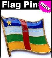 africa badge - Central Africa Metal Flag Badge Flag Pin