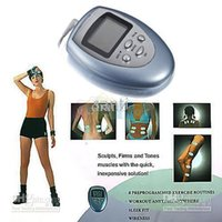 Wholesale X Electronic Slimming Massager Pulse sports fat burn Excercise healthy and beauty products