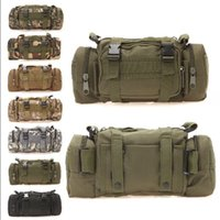 Wholesale Molle Heavy Duty Army Messenger Bags Unise Outdoor Shoulder Bag Military Style Travelling Camera Bag Tactical Large Waist Pack