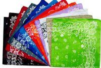 Wholesale Cheap processing BIGBANG bandana polyester cashew flower square scarf GD GD totem square dozens factory direct supply