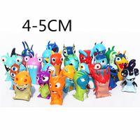 Wholesale 24pcs set Anime Cartoon cm Mini Slugterra PVC Action Figures Toys Dolls Child Toys Cake Topper