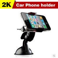 stands - degree Car Windshield Mount cell mobile phone Holder Bracket stands for iPhone5 S for samsung Smartphone