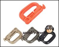 Wholesale 4 ITW Quick Release ABS Engineering Plastic Mountaineering Camping Outdoor Sports Activities Portable Durable D Buckle order lt no t
