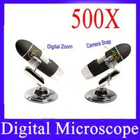 Wholesale 500X Digital Microscope with USB with Image CMOS Sensor MOQ