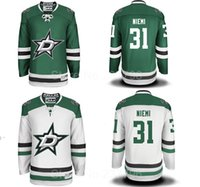 away jersey color - Factory Outlet Dallas Stars Antti Niemi Jersey Ice Hockey Antti Niemi Stars Jerseys Team Color Green Away White Men Best Quality