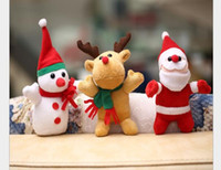 Wholesale Christmas Toy Supply cartoon Christmas toy Christmas gift plush doll toy factory direct