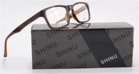 frames for glasses - SHINU Optical frame for women men high quality acetate optical glasses frame retro glasses SH009 C2