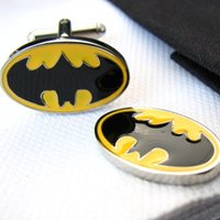 animated thanksgiving - Yellow Batman Animated Series Cufflinks Fancy Cuff Links cf456