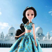 aladdin characters - cm12 quot Fairy tale Aladdin Princess Jasmine doll Toys for girls holiday and birthday gifts Joint body doll