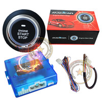 car alarm system - new russian product push start remote start system working with car alarm system or OEM remote key start time is set by yourself