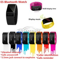contact number - High Quality Smart Watch Fashon Bluetooth Bracelet with Function of Caller name and number display Phone contacts sync automatically