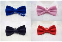 Wholesale Men Bow Tie Adjustable For Women Chirstmas Fashion Children Costumes Wedding Necktie Butterfly Bow Tie Knots Cravat Party Christmas DHL Free