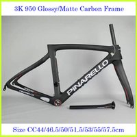Wholesale Road Bike K Carbon Frames Nake Red Cycling Bicycle Frameset Size cm CC
