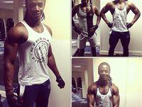gym vest - 2015 Gym Clothing powrhose Fitness Wear Aerobics training base models Professional fitness Wear loose vest
