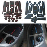 anti words - New Waterproof Car Styling For Ford Explorer Latex Anti Non Slip Gate Slot Pad Mat