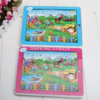 sound machine - Kid s Educational Toys Y Pad Farm Animal sound English Tablet Computer Learning Machine Touch Screen