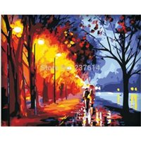 oil paint by numbers - Diy digital oil painting by numbers home wall pictures decoration handpainted wall picture oil painting acrylic painting on canvas