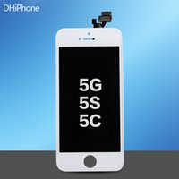 apple iphone 5g price - For iPhone G S C LCD Display Touch Screen Digitizer Full Assembly Replacement Parts Cheap Price with Black White color