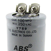 ac motor start - SZS Hot ABS MFD uF V AC Motor Starting Capacitor