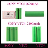 Cheap US18650 VTC5 VTC4 Lithium Battery 18650 Battery Clone 2600mAh 3.7V 30A fit All Electronic Cigarettes Mods EPACKET 30pcs