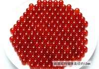 Wholesale DIY handmade accessories materials of natural red agate beads crystal beads scattered beads mm mm
