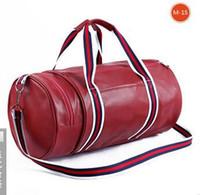 Wholesale One shoulder portable fitness capacity duffel bag bag bag cuhk tourism cylinder package bag custom made to order9