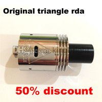 china christmas - 2015 merry christmas discount original triangle rda with large vapor from China