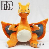 Wholesale 32cm charizard Rare Figure Soft Plush Toy Doll Kids Toys